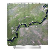 Alum Creek II Shower Curtain