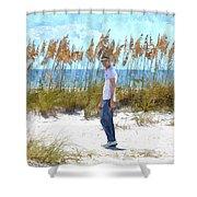 Cool On Anna Maria Island Shower Curtain