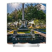 Always Look On The Bright Side Of Life Shower Curtain