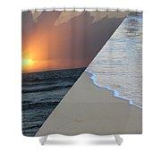Always The Sun - Reunion Island - Indian Ocean Shower Curtain
