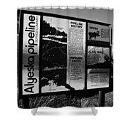 Alyeska Pipeline Shower Curtain