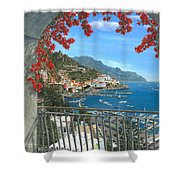 Amalfi Vista Shower Curtain