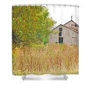Amana Barn Shower Curtain