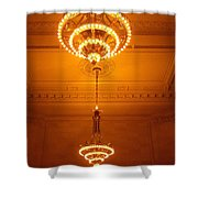 Amazing Antique Chandelier - Grand Central Station New York Shower Curtain
