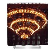 Amazing Art Nouveau Antique Chandelier - Grand Central Station New York Shower Curtain
