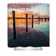 Amazing Bay Shower Curtain