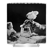 Amazing Circa 1920 Shower Curtain by Aged Pixel