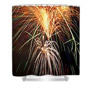 Amazing Fireworks Shower Curtain