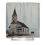 Amazing Grace In North Dakota Shower Curtain