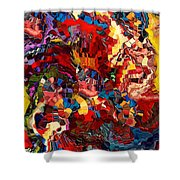 Amazing Morning By Rafi Talby   Shower Curtain