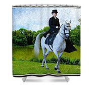 Amazon At The Park Shower Curtain