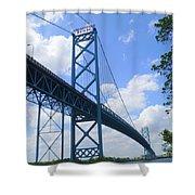 Ambassador Bridge Shower Curtain
