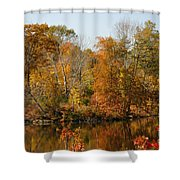 Amber Days Shower Curtain
