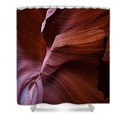 Amber Flow Shower Curtain