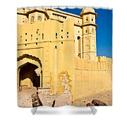 Amber Fort - Jaipur - India Shower Curtain