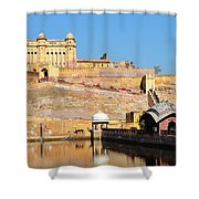 Amber Fort - Jaipur India Shower Curtain