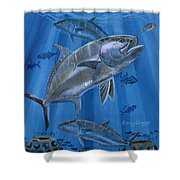 Amberjack In0029 Shower Curtain