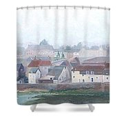 Amboise And The Loire River France Shower Curtain