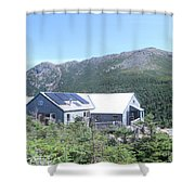 Amc Greenleaf Hut Shower Curtain