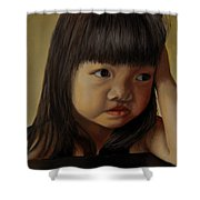 Amelie-an 8 Shower Curtain