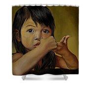 Amelie-an 9 Shower Curtain