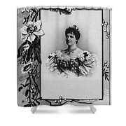 Amelie Of Portugal (1865-1951) Shower Curtain