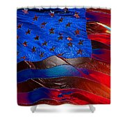 America Rising Shower Curtain