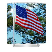 America The Beautiful Shower Curtain