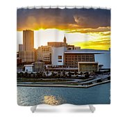 American Airlines Arena Shower Curtain
