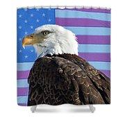 American Bald Eagle 2 Shower Curtain