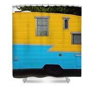 American Camper Series No.1 Shower Curtain