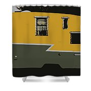 American Camper Series No.2 Shower Curtain