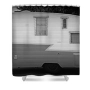 American Camper Series No.5 Shower Curtain