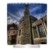 American Castle Shower Curtain