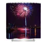 American Celebration Shower Curtain by Bill Pevlor
