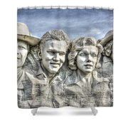American Cinema Icons - America's Sweethearts Shower Curtain