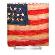 American Colours Shower Curtain