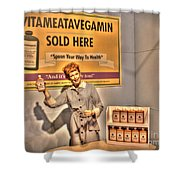 American Entertainment Icons - The First Lady Of Comedy Shower Curtain