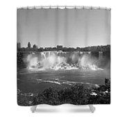 American Falls - Autumn - B N W Shower Curtain