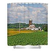 American Farmland 3 Shower Curtain