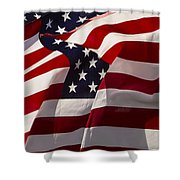 American Flags   #5147 Shower Curtain