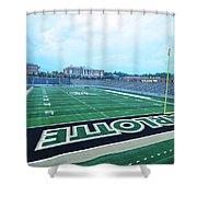 American Football Stadium Shower Curtain