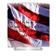 American Freedom Shower Curtain