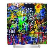 American Graffiti 15 - Crack Head Shower Curtain