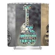American Guitars 5 Shower Curtain