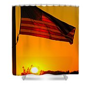 American Heritage Shower Curtain
