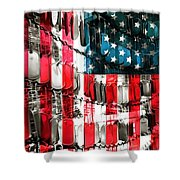 American Heroes Shower Curtain