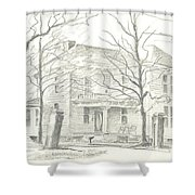 American Home II Shower Curtain