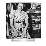 American In Internment Camp Shower Curtain