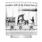 American Locomotive, 1830 Shower Curtain